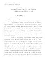 sáng kiến kinh nghiệm RÈN KĨ NĂNG ĐỌC CHO HỌC SINH LỚP MỘT  THÔNG QUA PHÂN MÔN TẬP ĐỌC