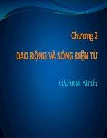 Bài giảng vật lý 2  chương 2   GV  lăng đức sỹ
