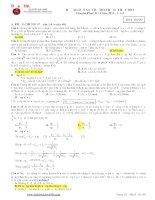 tuyển tập đề thi thử đại học các trường chuyên năm 2013