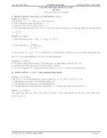 17 bộ đề ôn tập thi tốt nghiệp THPT & ĐH, CĐ môn Toán