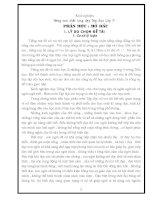 skkn Nâng cao chất lượng dạy Tập đọc Lớp 3