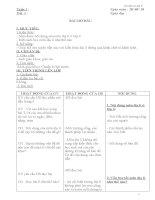 Giáo án địa lí lớp 6 ( Cả năm theo chuẩn )