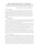 SKKN MỘT SỐ BIỆN PHÁP QUẢN LÍ CHỈ ĐẠO NÂNG CAO CHẤT LƯỢNG HOẠT ĐỘNG NGOÀI GIỜ LÊN LỚP