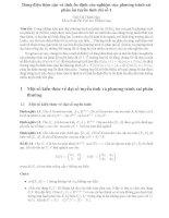 Dáng điệu tiệm cận và tính ổn định của nghiệm của phương trình sai phân ẩn tuyến tính chỉ số 1