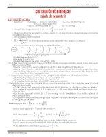 bài tập hóa học lớp 10 theo chuyên đề