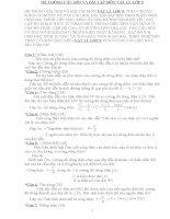 HỆ THỐNG CÂU HỎI VÀ BÀI TẬP MÔN VẬT LÍ LỚP 9 CHUẨN