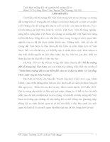 tiểu luận Tình hình ruộng đất và sự phân bố ruộng đất ở thôn Cơ Xá, tổng Phúc Lâm, huyện Thọ Xương, Hà Nội