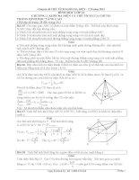 Chuyên đề thể tích khối đa diện
