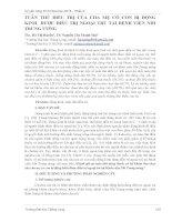 TUÂN THỦ ĐIỀU TRỊ CỦA CHA MẸ CÓ CON BỊ ĐỘNG KINH ĐƯỢC ĐIỀU TRỊ NGOẠI TRÚ TẠI BỆNH VIỆN NHI TRUNG ƯƠNG