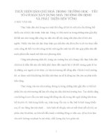 sáng kiến kinh nghiệm THỰC HIỆN DÂN CHỦ HOÁ TRONG TRƯỜNG HỌC – YẾU TỐ CƠ BẢN XÂY DỰNG NHÀ TRƯỜNG ỔN ĐỊNH  VÀ PHÁT TRIỂN BỀN VỮNG