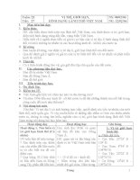 Giáo án Địa lý 8 HKII ( 3 cột )