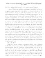 SÁNG KIẾN KINH NGHIỆM RÈN KỸ NĂNG ĐỌC DIỄN CẢM CHO HỌC SINH LỚP 5
