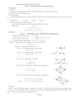 phương pháp giải bài tập vật lý lớp 10