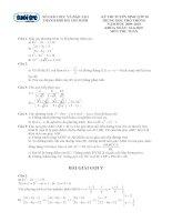 Đề-đáp án Toán TS lớp 10 TPHCM (09-10)