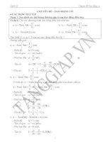 Chuyên đề dao động cơ(phân dạng đầy đủ)