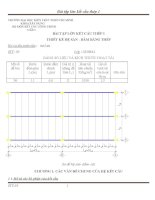 Bài tập lớn kết cấu thép 1. đề tài thiết kế hệ sàn dầm bằng thép
