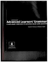 Longman Advanced Grammar