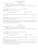 10 Đề thi thử quốc gia THPT môn toán 2015