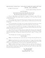 Quyết định 48/2007 - Ban hành chương trình tiếng Êđê cấp tiểu học