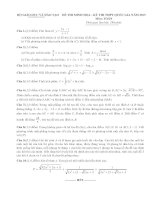 100 đề thi thử đại học môn toán năm 2015 của các trường chuyên trong cả nước kèm đáp án chi tiết (335 trang)