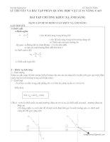 LÍ THUYẾT và bài tập PHẦN QUANG học vật lí 11 NÂNG CAO bài tập CHƯƠNG KHÚC xạ ÁNH SÁNG
