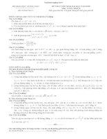 Tổng hợp đề thi Đại học môn toán khối B từ 2009 đến 2014