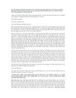 Báo cáo của BCHTW  khóa X về các văn kiện trình Đại hội XI