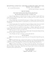 Quyết định 75/2008 - Ban hành chương trình tiếng Hmông cấp tiểu học