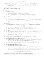 Tổng hợp đề thi cao đẳng môn toán từ 2008 đến 2014