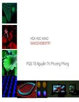 Chương 1   giới thiệu về hóa học nano