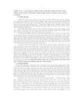 sáng kiến kinh nghiệm CÁCH DẠY PHÉP CHIAVỚI SỐ THẬP PHÂN CHO HỌC SINH LỚP 5 DỄ HIỂU HƠN GÓP PHẦN NÂNG CAO CHẤT LƯỢNG
