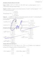 ôn tập lý thuyết hay về bpt chua gttd, can, pt bậc 2 chứa tham số