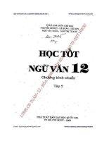 Học Tốt Ngữ văn 12 Tập 2 (Chương Trình Chuẩn) Tác giả   Lê Anh Xuân