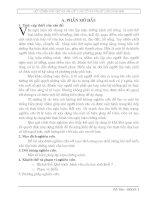 MỘT SỐ BIỆN PHÁP GIÚP HỌC SINH LỚP 7 LÀM TỐT BÀI VĂN LẬP LUẬN CHỨNG MINH