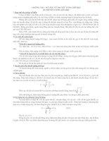 Lý thuyết + Bài tập chương Sơ lược về thuyết tương đối hẹp
