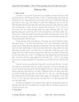 Sáng kiến kinh nghiệm  Một số Phương pháp dạy toán diện tích Lớp 5