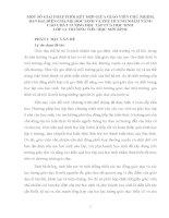 MỘT SỐ GIẢI PHÁP PHỐI KẾT HỢP GIỮA GIÁO VIÊN CHỦ NHIỆM, BAN ĐẠI DIỆN CHA MẸ HỌC SINH VÀ PHỤ HUYNH NHẰM NÂNG CAO CHẤT LƯỢNG HỌC TẬP CỦA HỌC SINH LỚP 1A TRƯỜNG TIỂU HỌC SƠN BÌNH