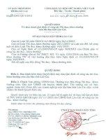 Quyết định 29/2006 Qui định về công tác Thi đua, khen thưởng trên địa bàn tỉnh Lào Cai