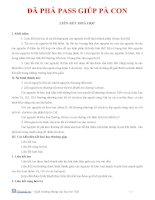 BÀI TẬP LIÊN KẾT HÓA HỌC 2