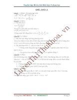 Tuyển tập các đề thi HSG Toán lớp 9 chọn lọc