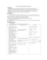 Giáo án giải tích 12  ôn tập và kiểm tra 1 tiết chương II