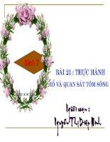 bài 23 Thuc Hanh mo Tom