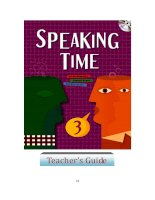 Speaking Time 3