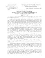 CV số 161/SGD&ĐT V/v chương trình hành động thực hiện NQ Đại hội Đảng bộ tỉnh lần thứ XVII của ngành GD&ĐT