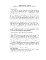 Sáng kiến kinh nghiệm phương pháp giảng dạy tiết ôn tập chương