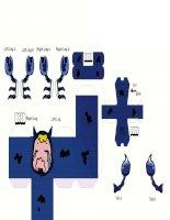 Mô hình giấy cung Bò cạp(thiên yết,thần nông)