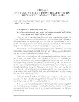 Khái niệm về ngân hàng thơng mại và quá trình phát triển của hệ thống ngân hàng thơng mại ở Việt Nam