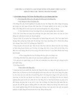 THỰC TRẠNG CÔNG TÁC  KẾ TOÁN VỐN BẰNG TIỀN VÀ CÁC KHOẢN PHẢI THU TẠI CÔNG TY TNHH MỘT THÀNH VIÊN DỊCH VỤ KHAI THÁC HẢI SẢN BIỂN ĐÔNG TP HỒ CHÍ MINH (ESF CO.LTD)