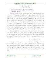 SKKN MỘT SỐ BIỆN PHÁP ĐỂ DẠY TỐT MÔN TIN HỌC CẤP TIỂU HỌC