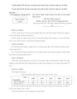Tuyển tập 25 đề thi học sinh giỏi môn địa lý lớp 10 (kèm đáp án chi tiết)